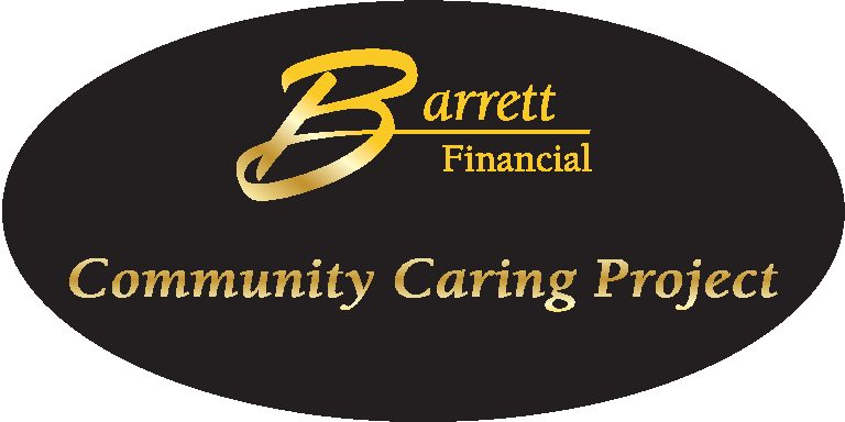 Barrett Financial Community Caring Project logo